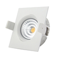 360 angle tilt,0-100% dimming recessed led downlight recessed ceiling lamp
