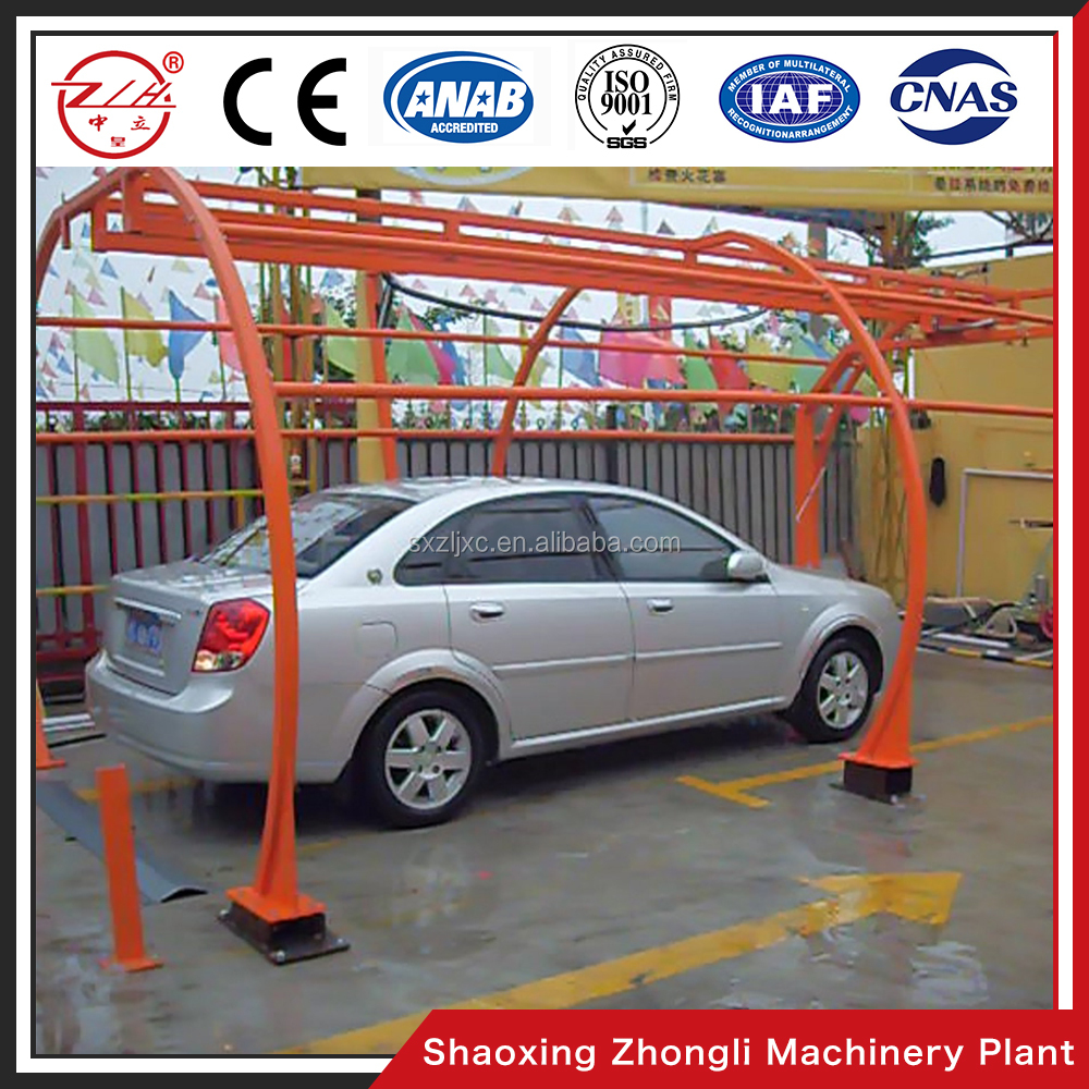 2017 Low Price Semi Automatic Arched Car Wash Equipment China