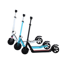 36V 6.6ah Li-ion Battery 8 inch Aluminium Alloy Portable Folding Electric Scooter 350W with Shock Absorber and LED Display