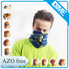 Breathable sweat suitable Anti-UV coolmax custom cycling bandana