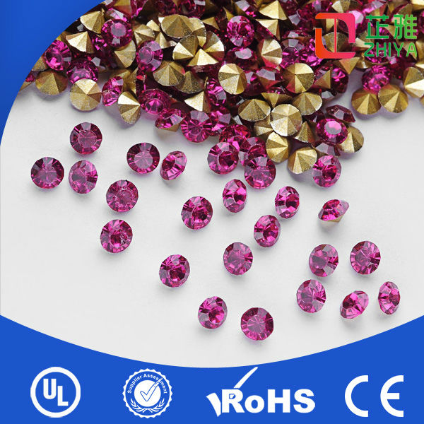 wholesale point back acrylic chaton rhinestone