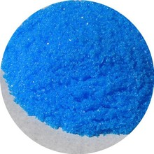 Cu 25% Water Soluble Dry Blue Crystal Fertilizer Grade SGS Cerilficated Copper Sulfate