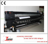 H8 solvent digital baner printers, solvent printing machine with konica printhead printer