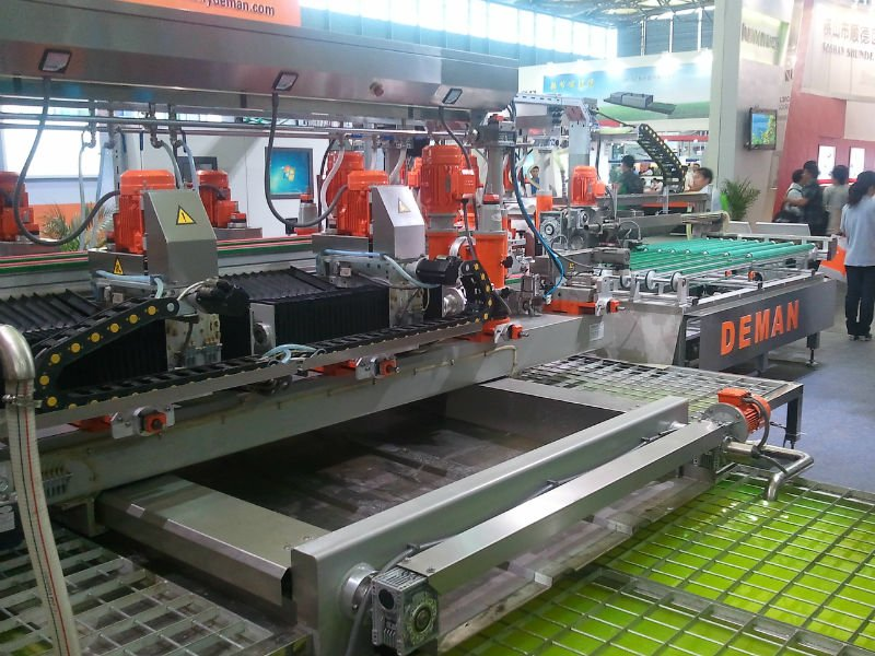 flat glass pre processing, grinding polishing washing drilling machines, furnaces, IG-lines