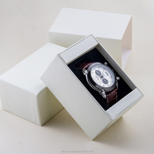 Personalized mini paper watch packaging box free sample with custom logo
