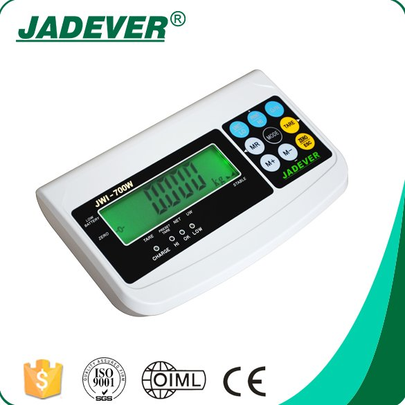JWI-700W Hot Sale Electronic Digital Plastic Weighing Indicator Scale