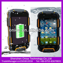 World strongest water proof shock proof cell phone ip67 android phone nomu V9 mtk6589 quad core 4'' FWVGA dual card dual standby