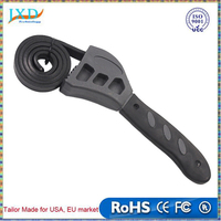 Multitool Universal Wrench Black Rubber Strap Adjustable Spanner For Any Shape Opener Tool Car Repair Tools HW293