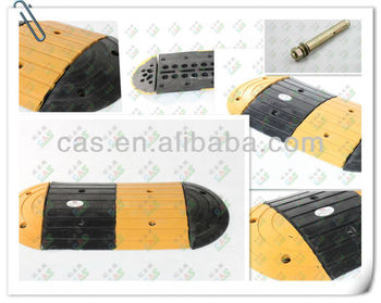 Yellow&Black High quality rubber hump / speed breaker / ramp