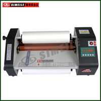 FM-B380 digital display temperature tabel top A3 hot cold roll laminator