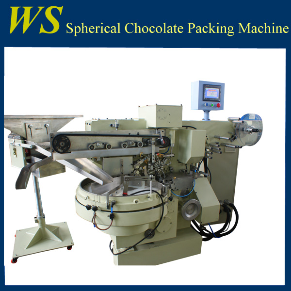 Small Egg Shape Chocolate Wrapping Machine