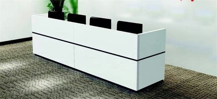 chinese manufacturer modern office reception desk view