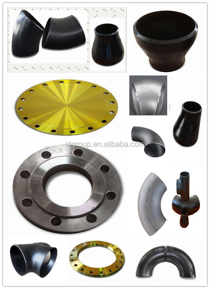 ANSI/ASME B16.5 carbon steel alloy steel stainless steel pipe fitting forged flange