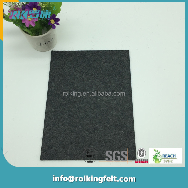 Hot sale and durable 100% pure color anti-tearing manufacture customized wool felt