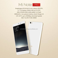 2015 Newest Xiaomi Note pro 5.7Inch 2.5GHz 4GB RAM 64GB ROM android 3D curved big screen 2K smart phone