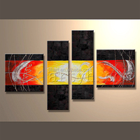 Modern beautiful large wall art canvas paintings stretched and framed canvas wall painting