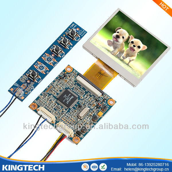 2.4 inch controller board for lcd