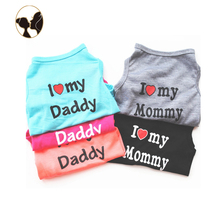 wholesale New coming cotton dog coats pet clothes dog t-shirt pet clothes custom dog clothes