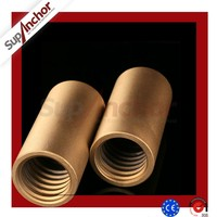 SupAnchor R32L carbon steel rebar joint coupler