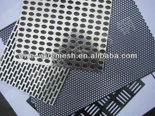 ISO 9001 Galvanized 0.6mm sheet Perforated Metal factory (anping)