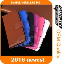 mobile phone shell luxury phone leather case for iphone 5s back cover