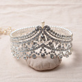 Pearl Rhinestone Beauty Queen Princess Crown Crown For Girls