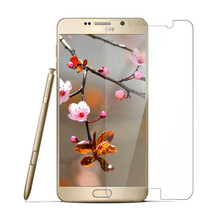 9H 0.2MM HD Round Edge Ultra-clear Tempered Glass Screen Protector Film Guard For galaxy note 5