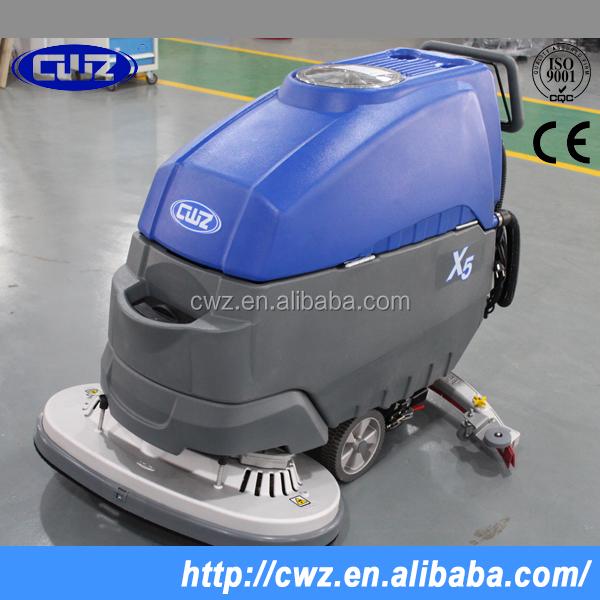 Compact Battery Type Industrial Floor Scrubber Dryer