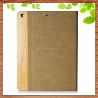 with auto sleep feature leather case for ipad mini case , for ipad mini wood case