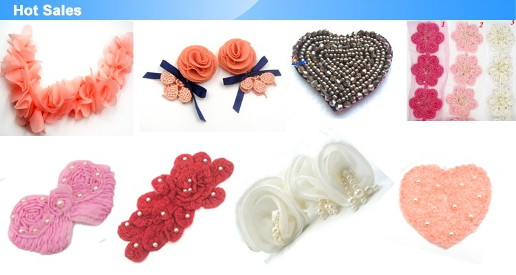 Handmade wholesale promotion satin rose fabric flower brooch for ladies