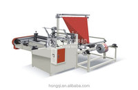 plastic bag film hem folding Machine