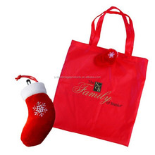 Christmas Super shape tote bag -Christmas stocking