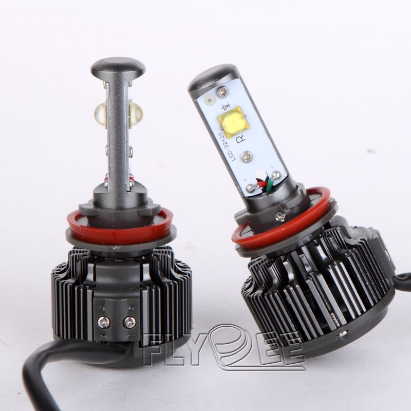Car H7 H8 H9 H11 9004 9007 9005 9006 H4 40W V16 Turbo 3600LM 4800lm LED head light Headlight Kit Fog Driving Light Bulbs