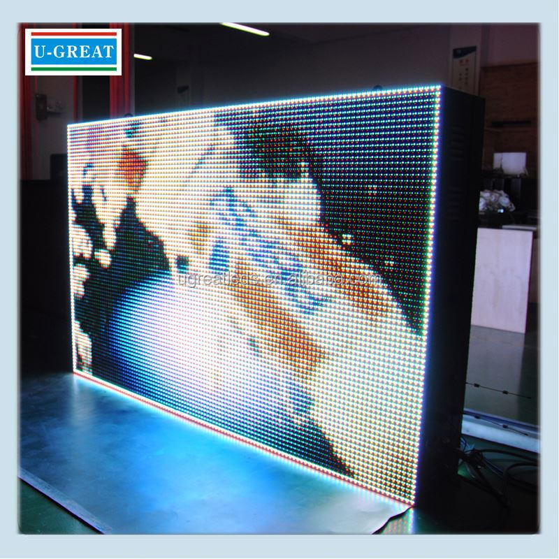 Transparent displays outdoor open WIFI bus led destination sign