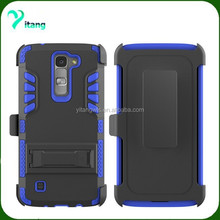 For LG K7 case phone cover heavy duty 3 in 1 armor case for LG M1 LG tribute 5