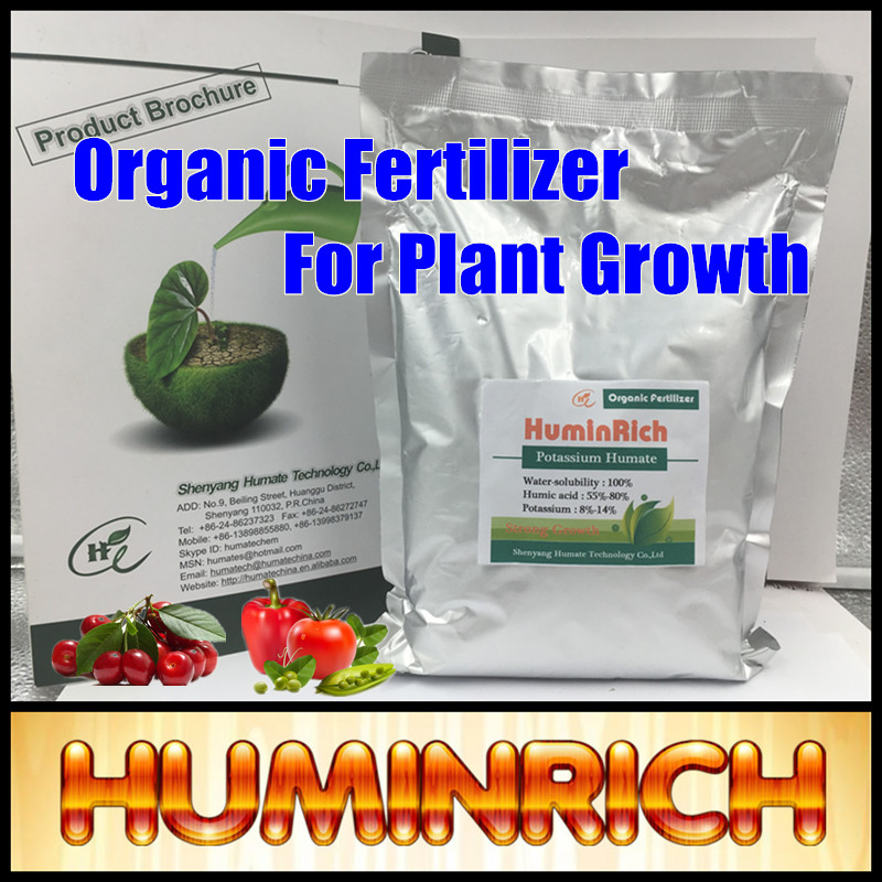 Huminrich Pure Potassium Humate Potash Humic Acid Micronutrient Fertilizer