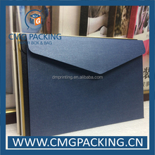 High quality iridescent paper business envelope with logo printing