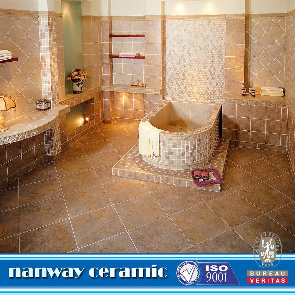Luxury bathroom floor tiles