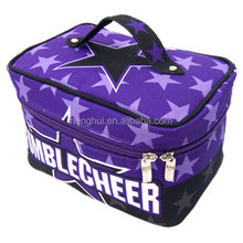 Satin Material Travel Cosmetic Case Makeup Bag Personalized