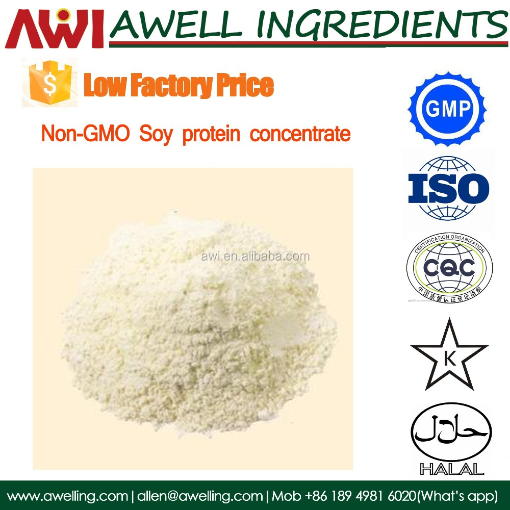 concentrated soy protein with Food Grade