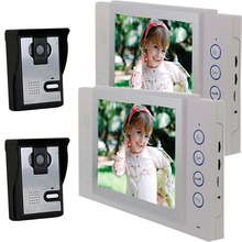 Saful 2 wire apartment building video intercom with 8 inch lcd screen TS-815MA22