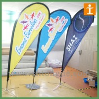 wholesale teardrop banners / bow flag