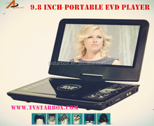 wholesale portable cd dvd evd player mp3 mp4 rmvb mpeg5 game player portable dvd player