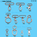 Round Push Gate Snap Hooks For Round Rope