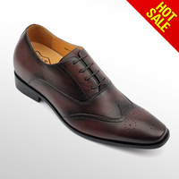 Handmade oxford dress shoes/men dress leather pointed shoes