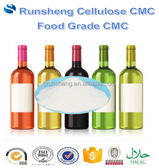food cmc carboxymethyl cellulose for wine beverages Kosher