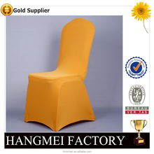 Factory Wholesale Luxury Fitted Chair Cover Wedding/Cheap Fancy Banquet Spandex Chair Cover