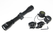 Drop Ship 4x32 Tactical Rifle Scope Hunting Shooting Optics Crosshair Riflescope Gun Scope With Ring Mounts and Lens Cover