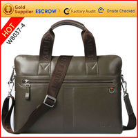 Wholesale good quality leather briefcase with fine craft at low price