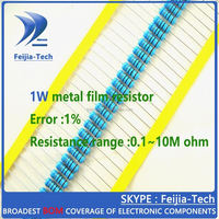 1W 680 ohm +/-1% Metal Film Resistor Color ring resistance